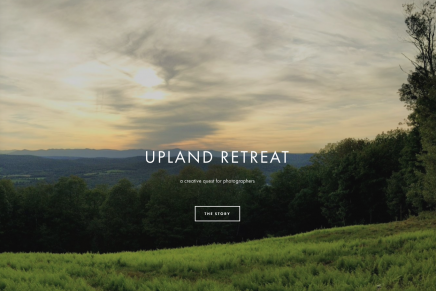 Upland Retreat: A creative quest for photographers